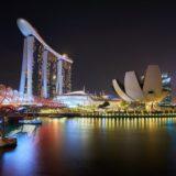 シンガポールの夜景を楽しむ