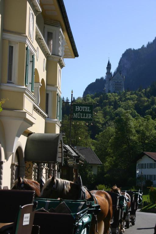 ノイシュバンシュタイン城すぐ側のホテル