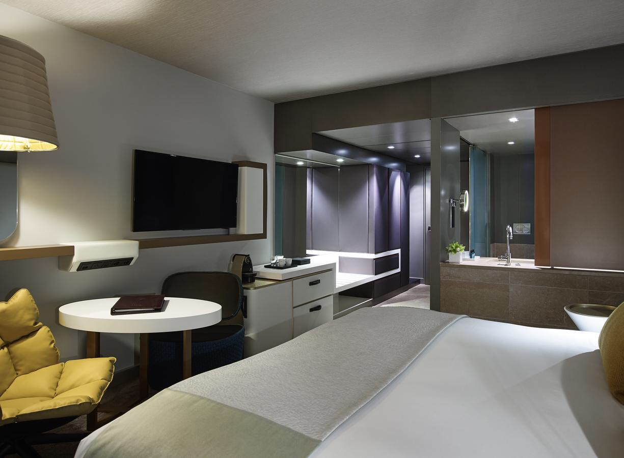 美しいモダンな客室