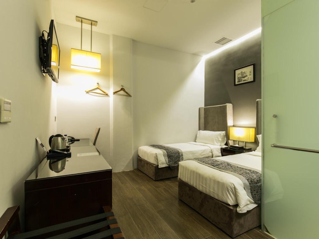 Bliss Hotel Singapore 客室